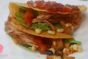 pineapple chicken tacos slow cooker recipe