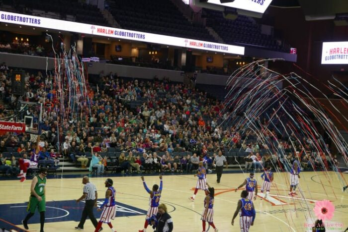 Check out our fun experience at the Harlem Globetrotters
