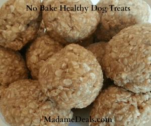 no bake healthy dog treats 1