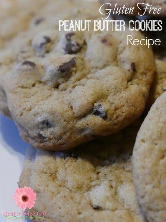 Gluten Free Peanut Butter Cookies Recipe