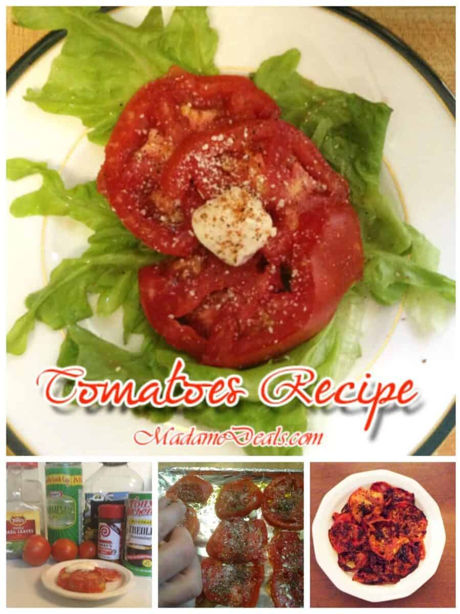 Tomatoes Recipe