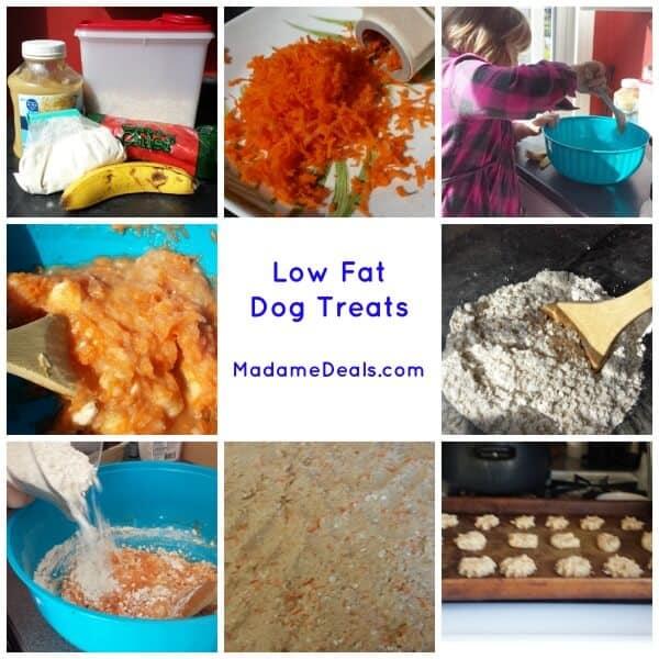 Low Fat Dog Treats