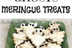 Halloween Meringue Ghosts Recipe