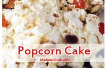 Snack Popcorn Cake