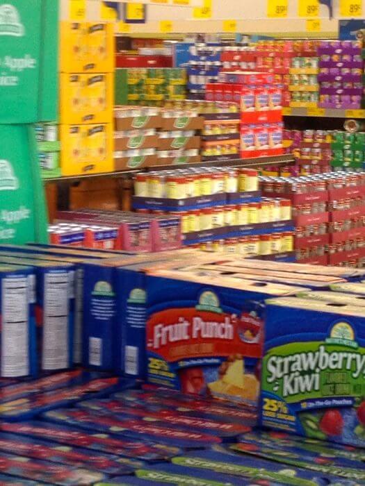 aldi shelves