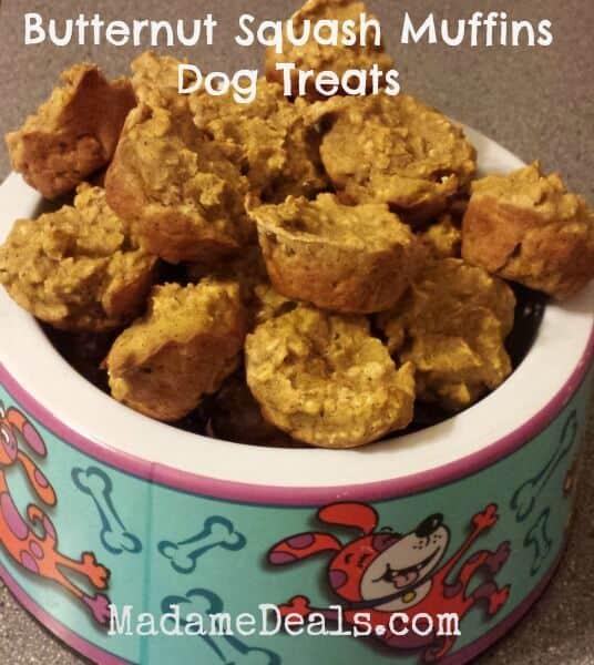 butternut Squash Dog Treats 1