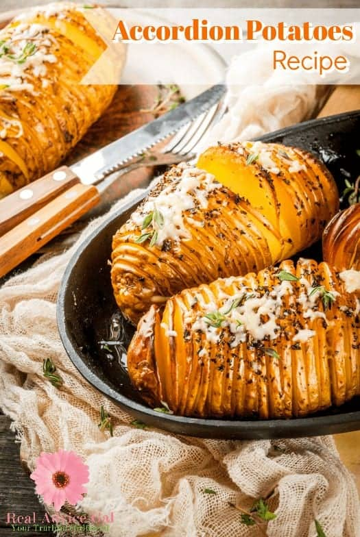 This easy Accordion Potatoes Recipe is so delicious and looks fantastic!