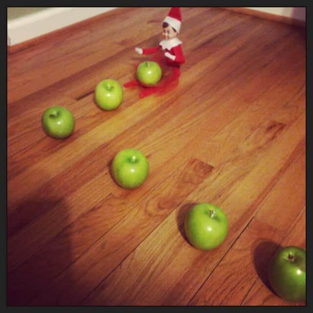 elf in the shelf ideas