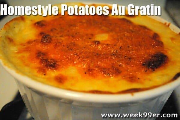 gluten free au gratin potatoes