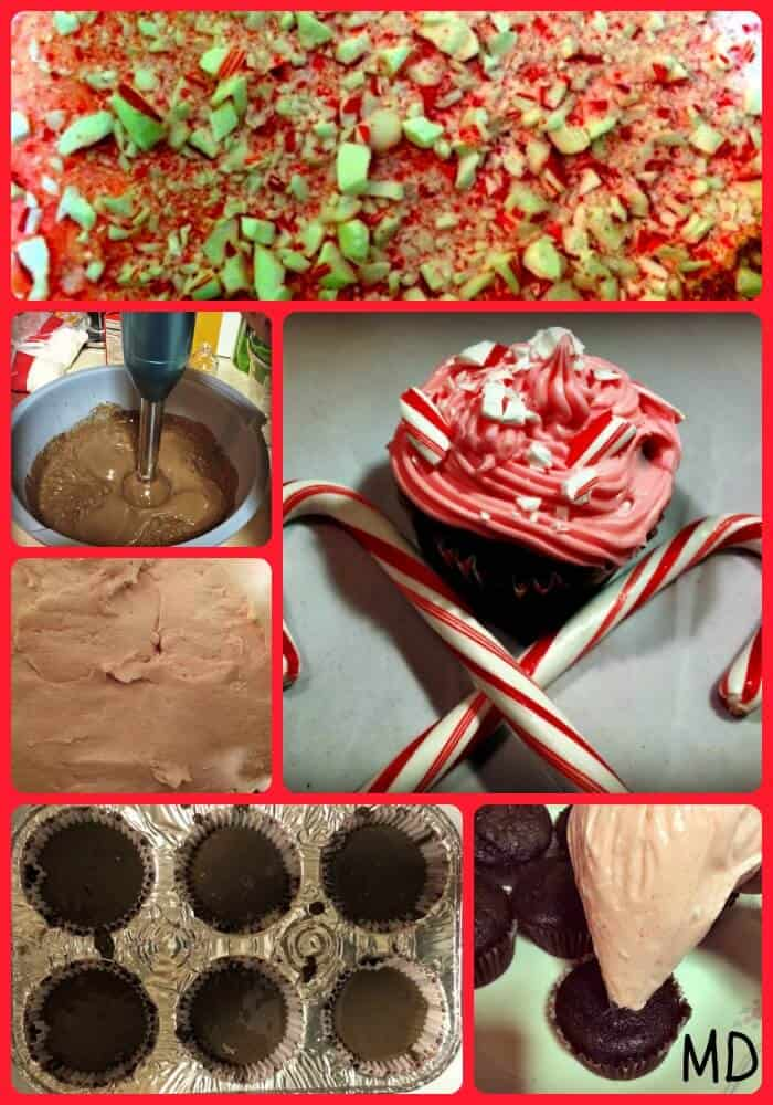 Chocolate-Peppermint-Cupcakes-Steps