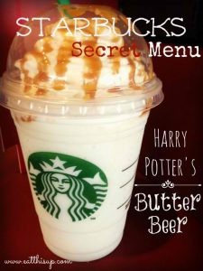Starbucks-ButterBeer-