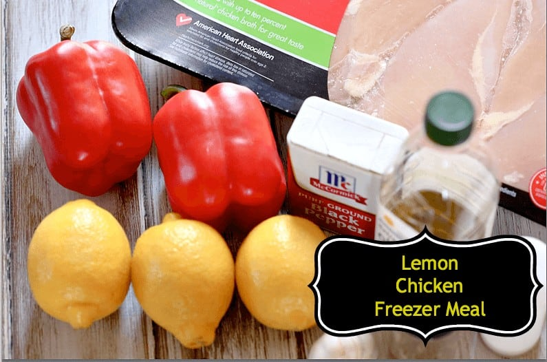crock pot lemon chicken recipe