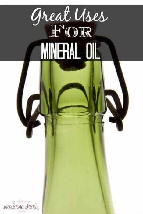 Great uses for Mineral Oil