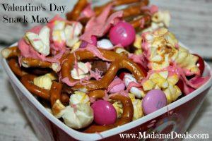Valentines Day Snack Mix