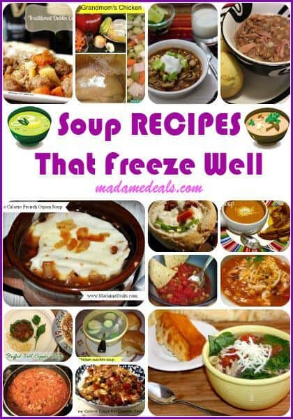 Soups that Freeze Well
