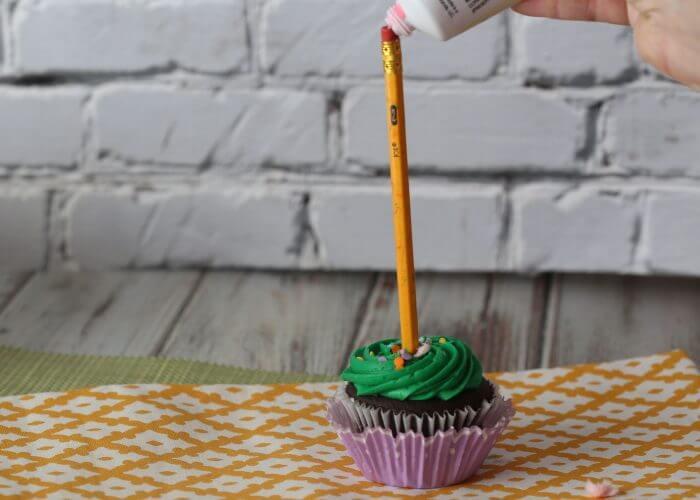 Lorax cupcake
