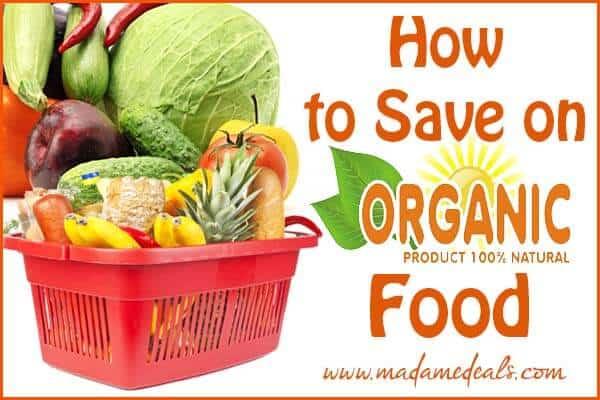 Save On Organic Foods