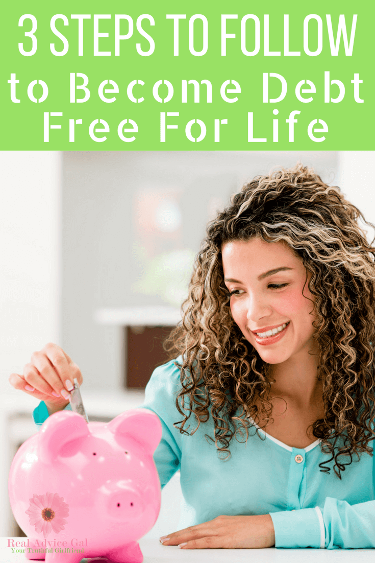 Debt Free comes easily when you use our 3 Lessons to be Debt Free For Life! Great tips for learning how to rid yourself of debt on any income!