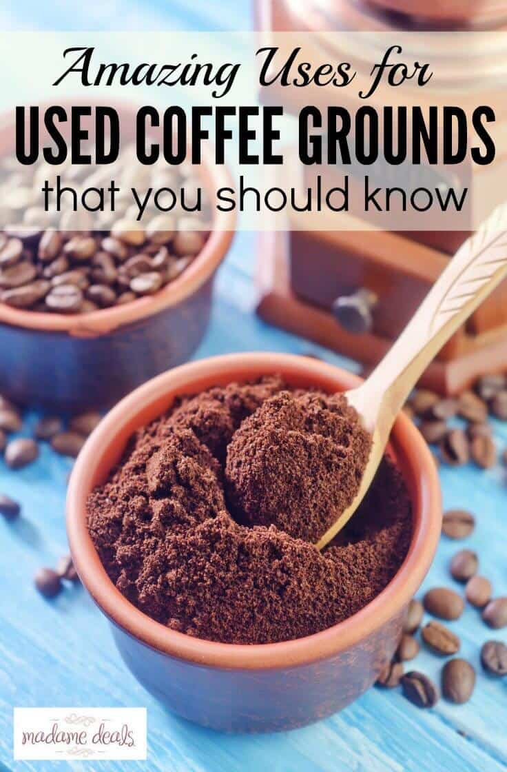 15 Amazing Uses for Coffee Grounds that you should know!
