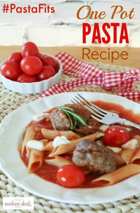 Try this scrumptious One Pot Pasta recipe.