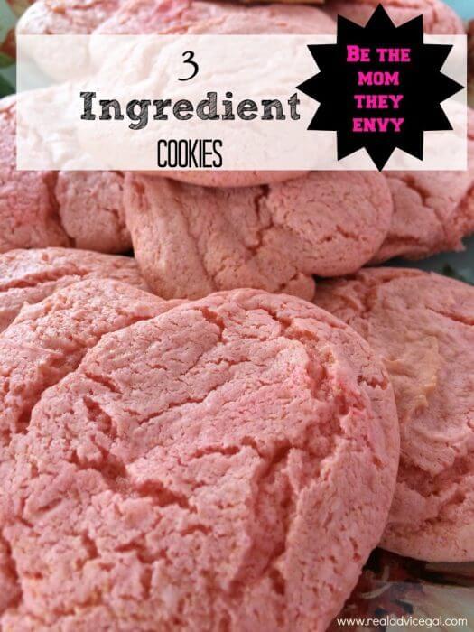 3 ingredient cookie