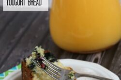blueberry bread with pineapple