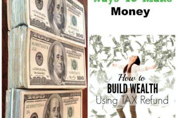 How to make money using tax refund