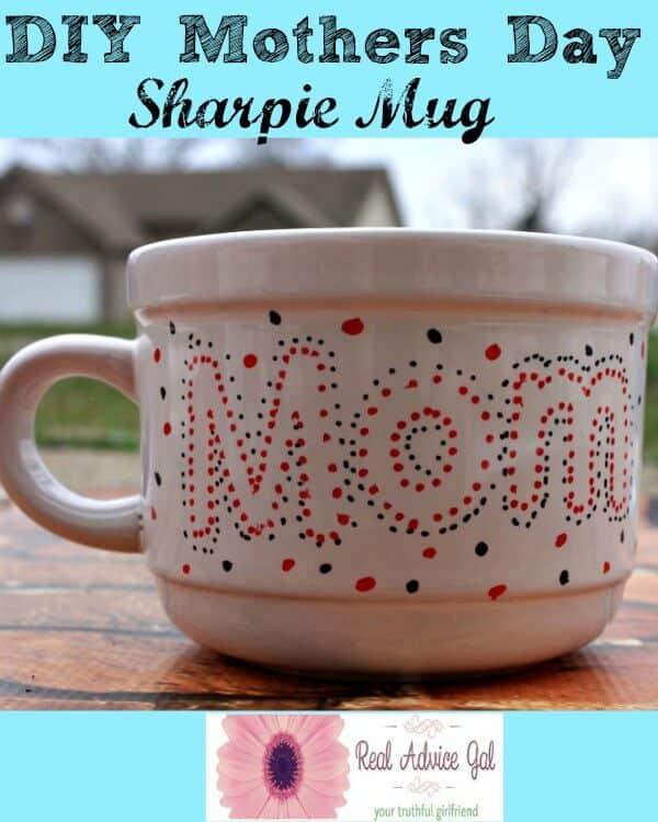 Mother's Day Sharpie Mug
