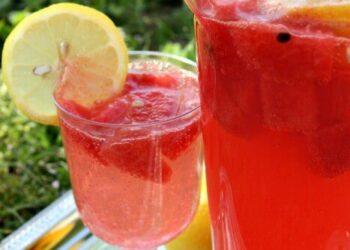 Sparkling Watermelon Lemonade Recipe