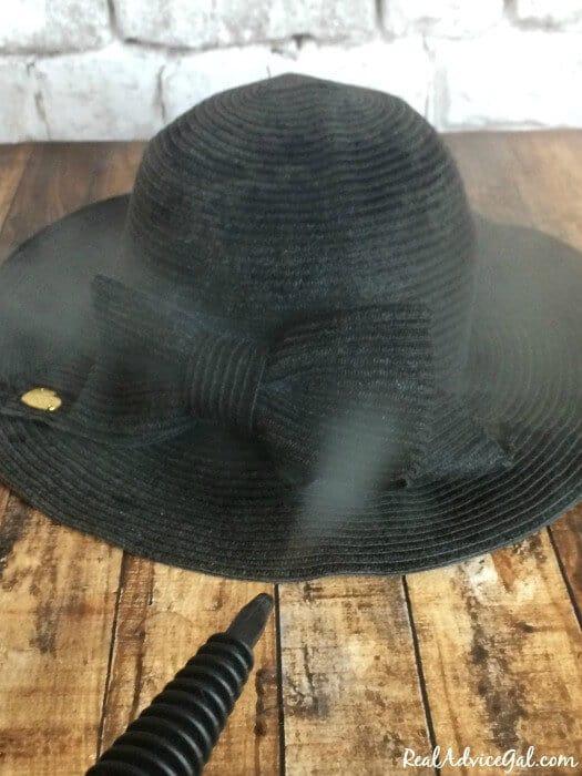 reshaping straw hats
