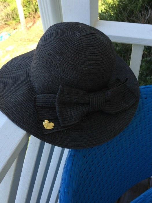 straw hats drying