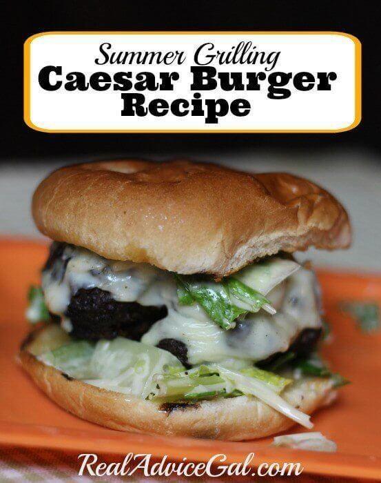 Caesar Burger Recipe