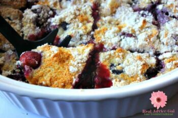 weight watchers berry cobbler