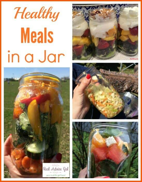 Healthy Sports Meals in a Jar
