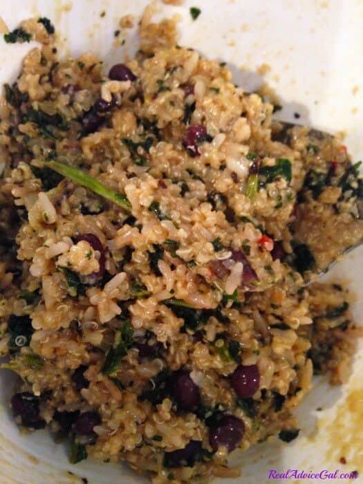 Baked Quinoa Patties Recipe