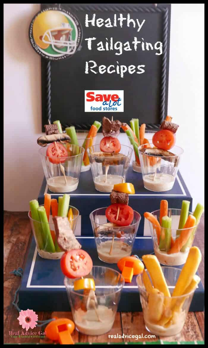 These veggie cups are delicious and easy healthy tailgating recipe that everyone will love.