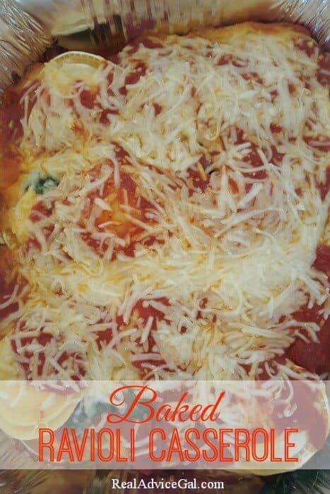 Baked Ravioli Casserole Recipe