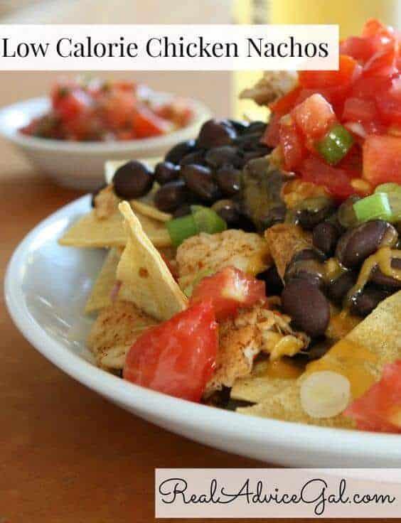 Low Calorie Chicken Nachos Recipe