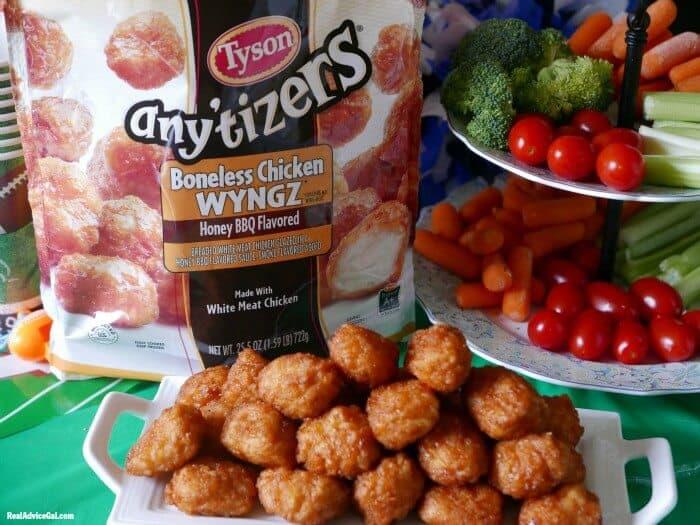 tyson any'tizers boneless chicken wyngz