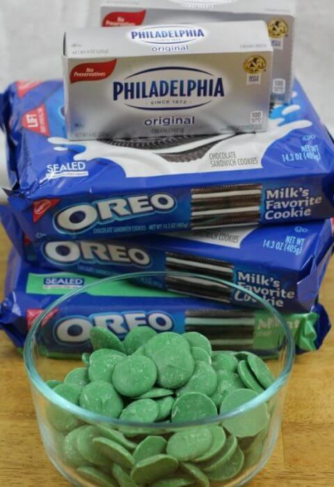 Oreo Cookie Balls ingredients only 3 ingredients