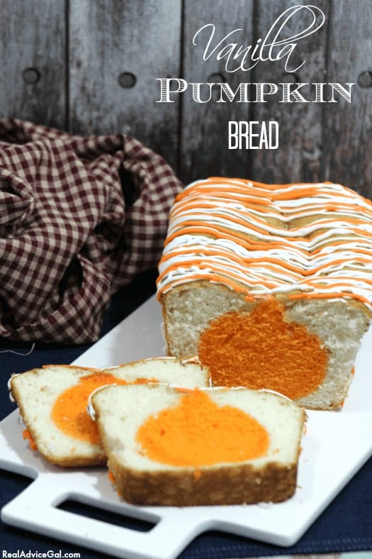 Vanilla Pumpkin Bread Recipe