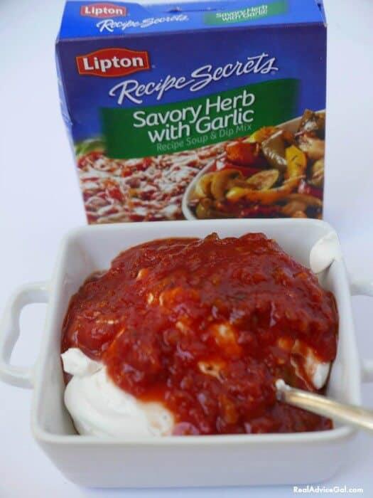 Easy Dip Recipe with Lipton® Recipe Secrets