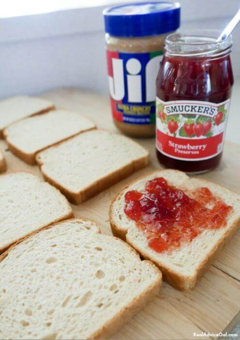 Create a fun and delicious kids PB&J party with Jif and Smuckers.