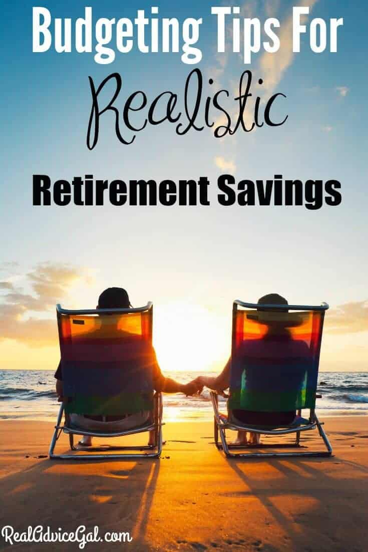 Check out our best budgeting tips perfect for setting up realistic retirement savings. Plan for the future now so you don't have stress later in life!