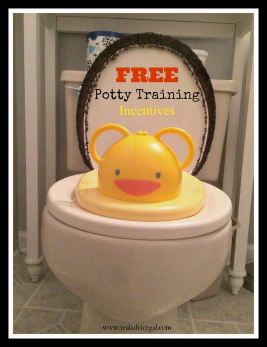 Free potty training tools