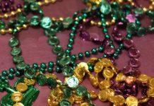 mardis gras beads colors