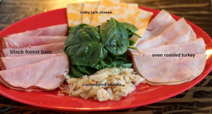all the ingredients you need to make ou rbread bowl sandwich recipe