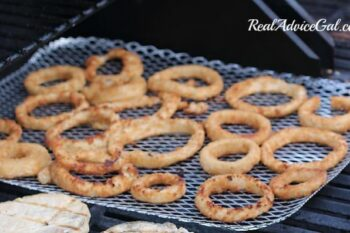 Fried Onion Rings on the Grill flip side
