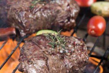 Grilled T-bone Steaks