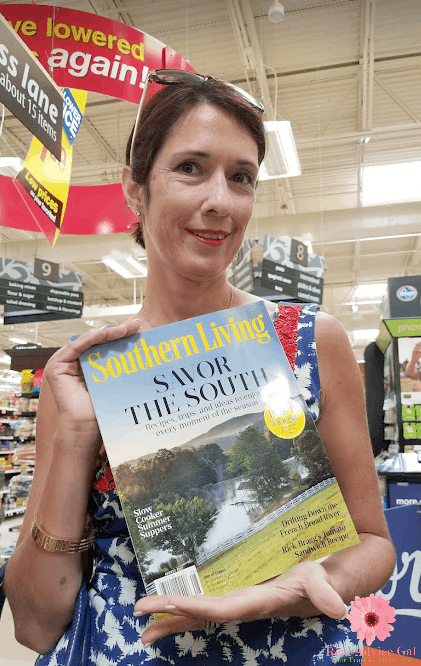 """Have a """"Me Time"""" this summer and enjoy reading your favorite magazine. Check out the August issue of Southern Living Magazine and save big by getting Kroger coupon now!"""